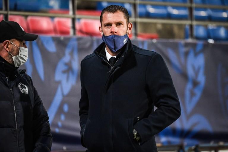 Sylvain Armand, coordinateur sportif du LOSC.