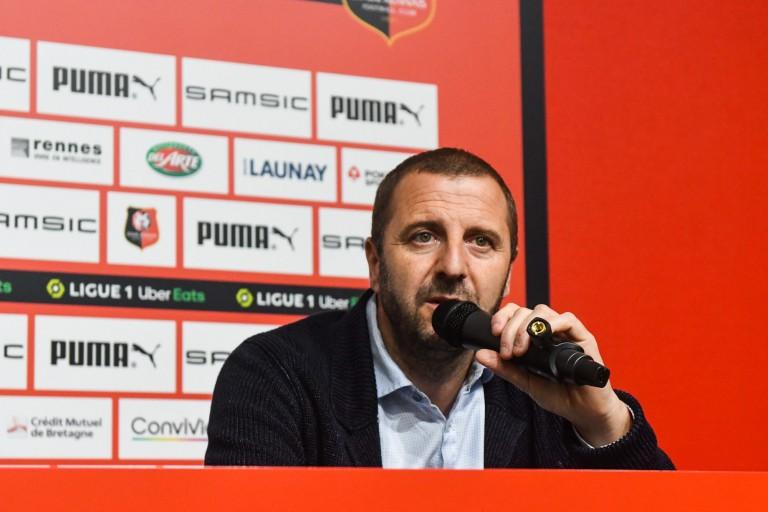 Florian Maurice, directeur sportif du Stade Rennais.