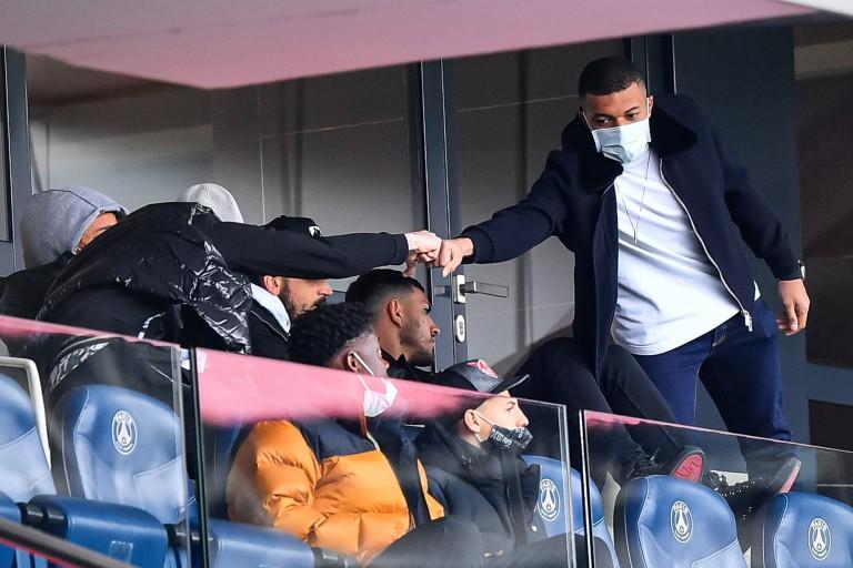 PSG : Kylian Mbappé est incertain contre Manchester City.