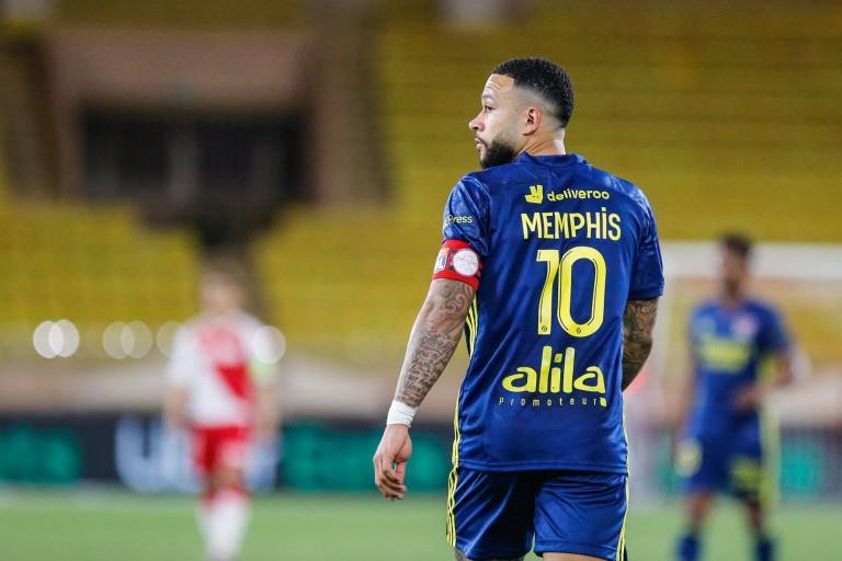 Memphis Depay, capitaine et meilleur buteur de l'OL.