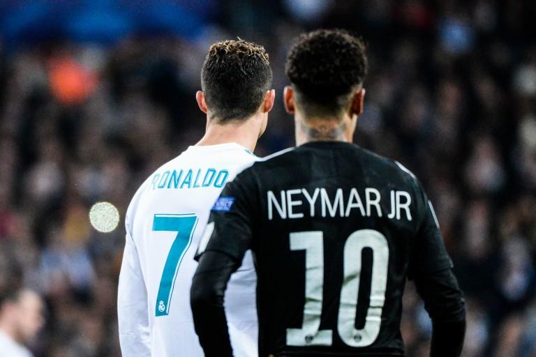 Neymar rêve de jouer avec Cristiano Ronaldo.
