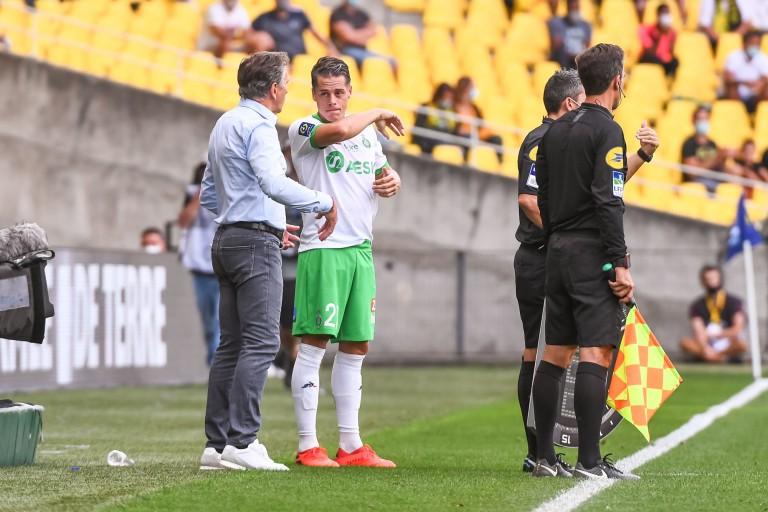 Claude Puel a convaincu Romain Hamouma de prolonger son contrat avec l' ASSE.