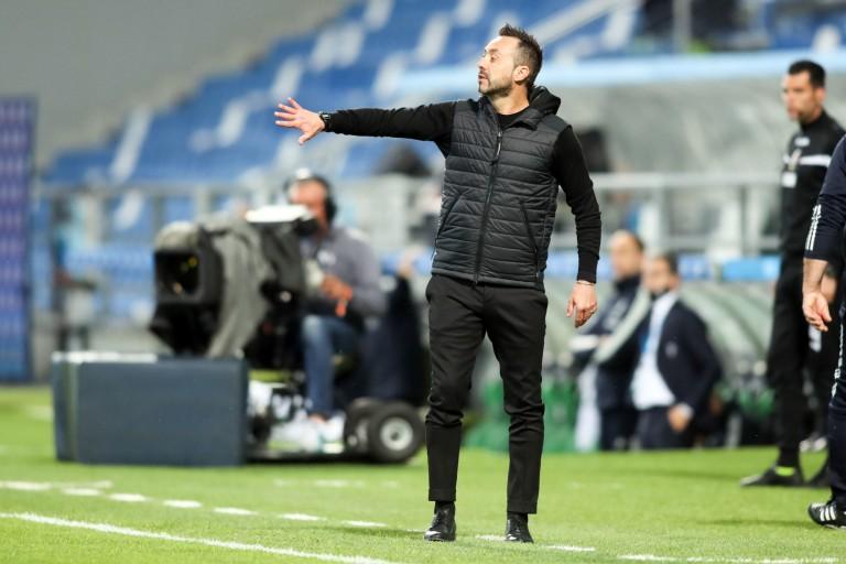 Roberto De Zerbi, coach de Sassuolo, est dans le viseur de l'OL.