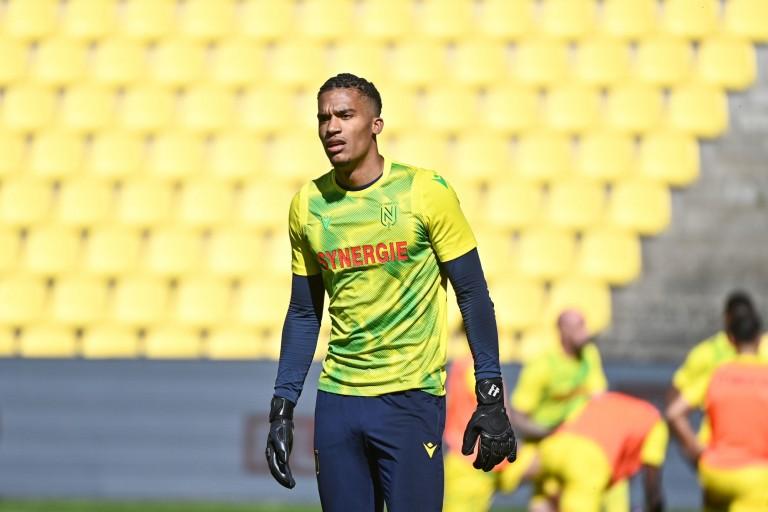 Alban Lafont, nouveau capitaine du FC Nantes.