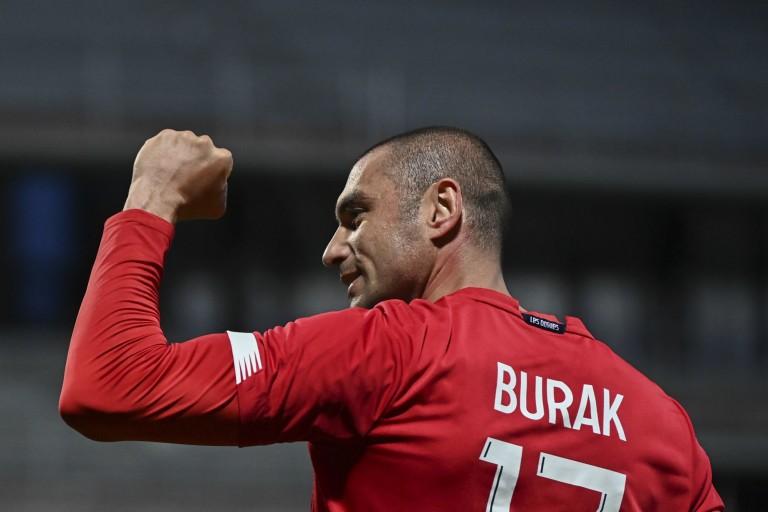 Burak Yilmaz, attaquant du LOSC.