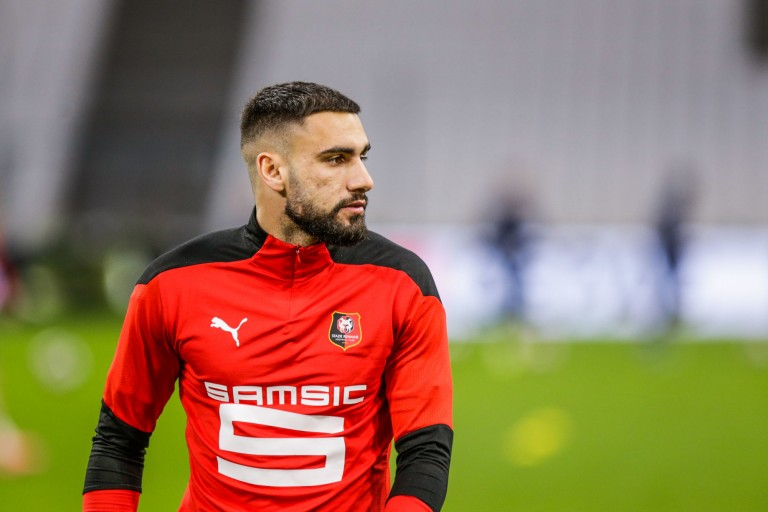 Romain Del Castillo, attaquant du Stade Rennais, se dirige vers l'Olympiakos.