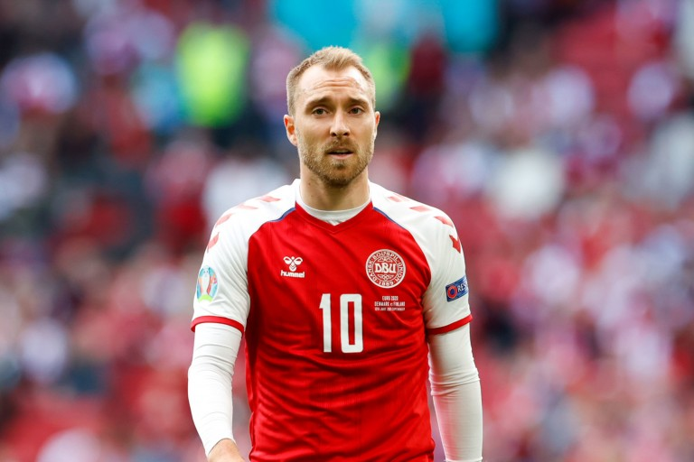 Christian Eriksen, milieu offensif du Danemark, se porte mieux.