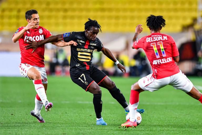 Faitout Maouassa, défenseur du Stade Rennais.