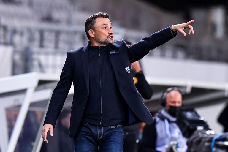 Franck Haise, entraîneur du RC Lens.
