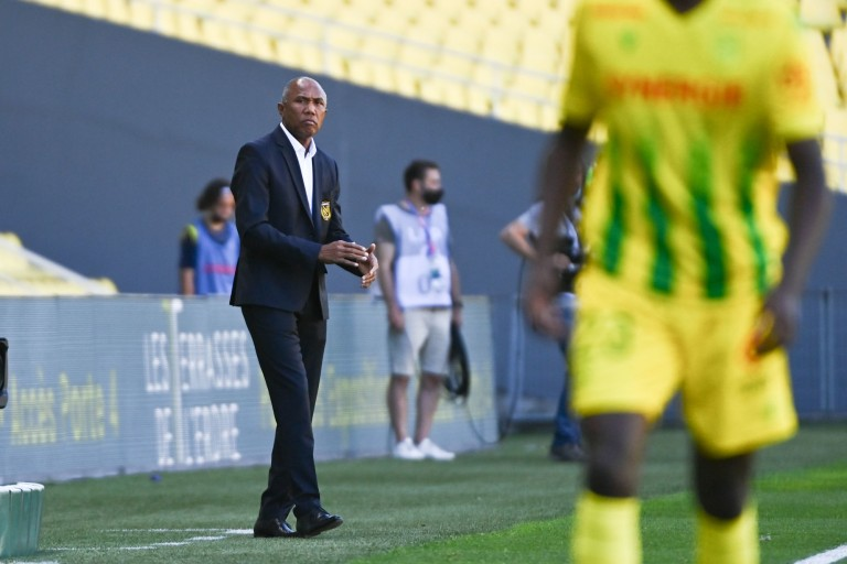Antoine Kombouaré, coach du FC Nantes.
