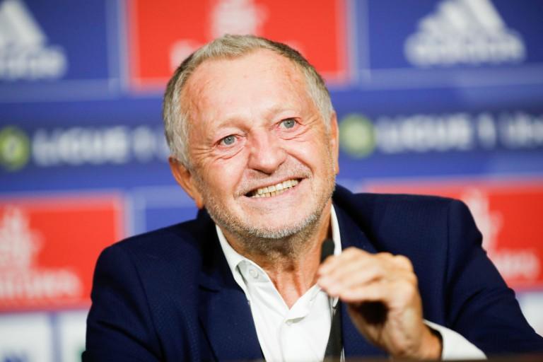 Jean-Michel Aulas, président de l'OL.