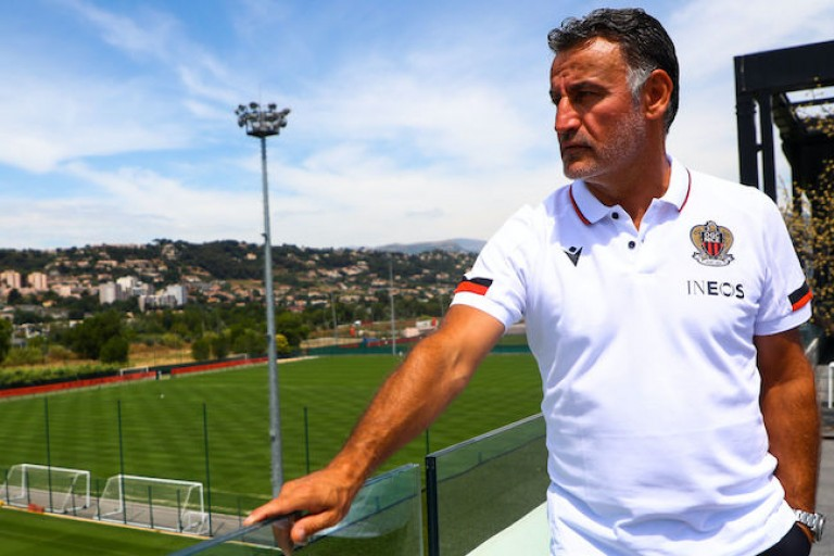 Christophe Galtier, coach de l'OGC Nice.