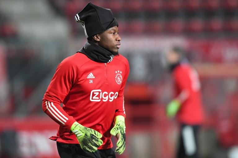 André Onana, gardien de but de l'Ajax, proche de signer à l' OL.