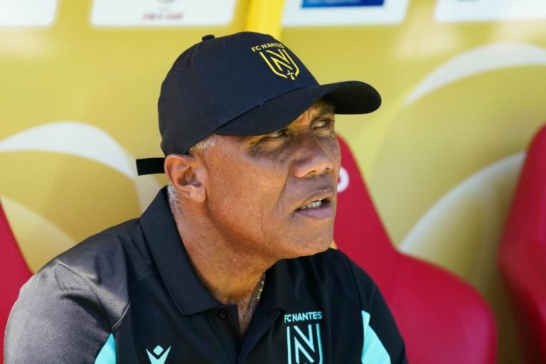 Antoine Kombouaré, entraîneur du FC Nantes.