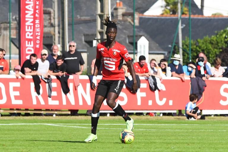 Eduardo Camavinga, milieu de terrain du Stade Rennais.
