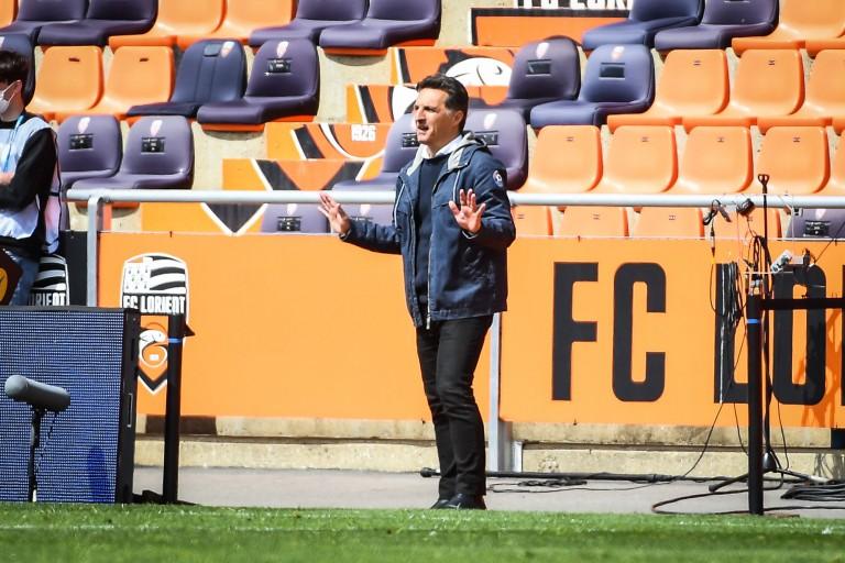 Christophe Pélissier, entraîneur du FC Lorient.