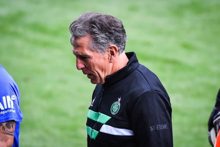 Claude Puel, coach et manager général de l' ASSE.