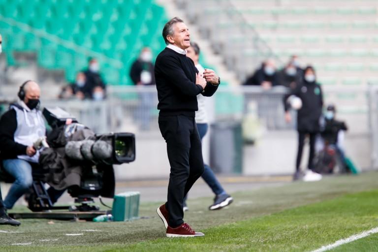 Claude Puel, au coach et manager général de l'ASSE.