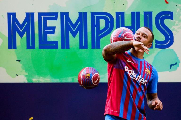 Barça Mercato : Memphis Depay en plein bonheur à Barcelone.