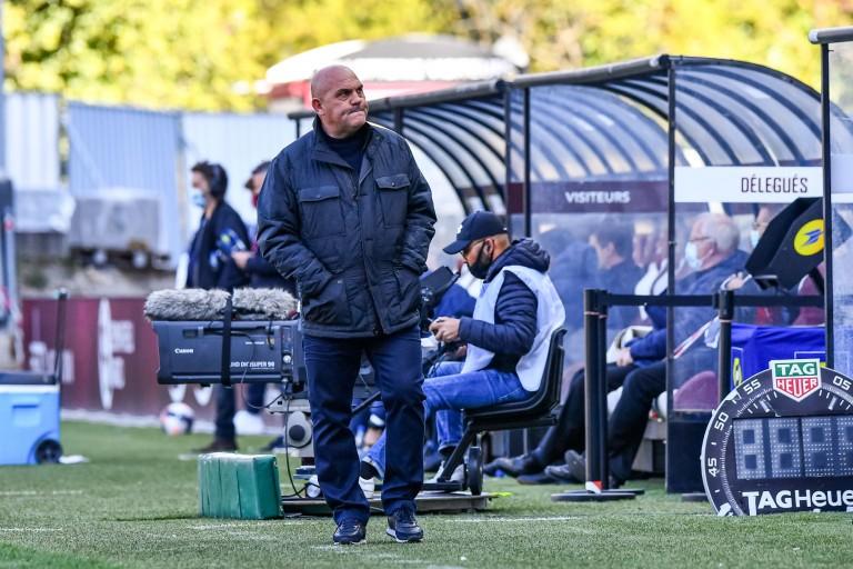 Frédéric Antonetti, coach du FC Metz.