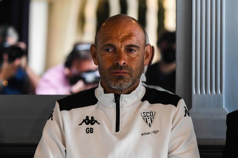Gérald Baticle, entraîneur d' Angers SCO.