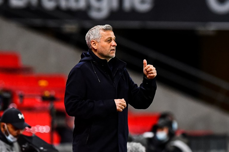 Bruno Genesio, coach du Stade Rennais.