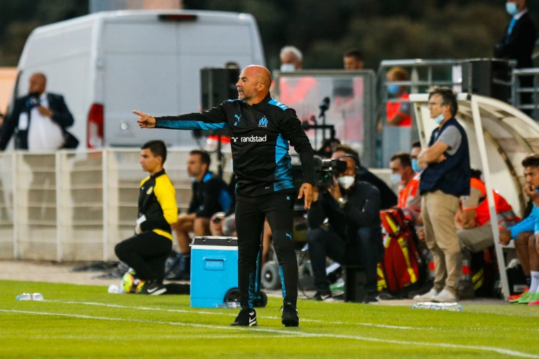 Jorge Sampaoli, coach de l'OM.