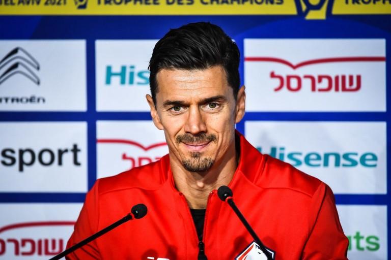 José Fonte, capitaine du LOSC.