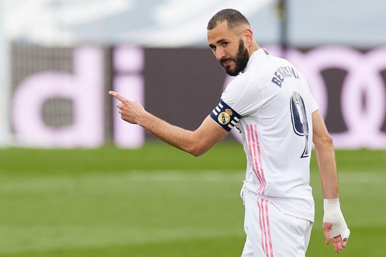 Karim Benzema sous les couleurs du Real Madrid.