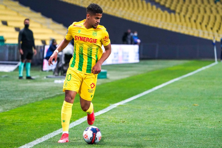 Ludovic Blas, milieu offensif du FC Nantes.