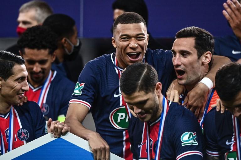 Mauro Icardi, Kylian Mbappé, Di Maria... du PSG en joie.