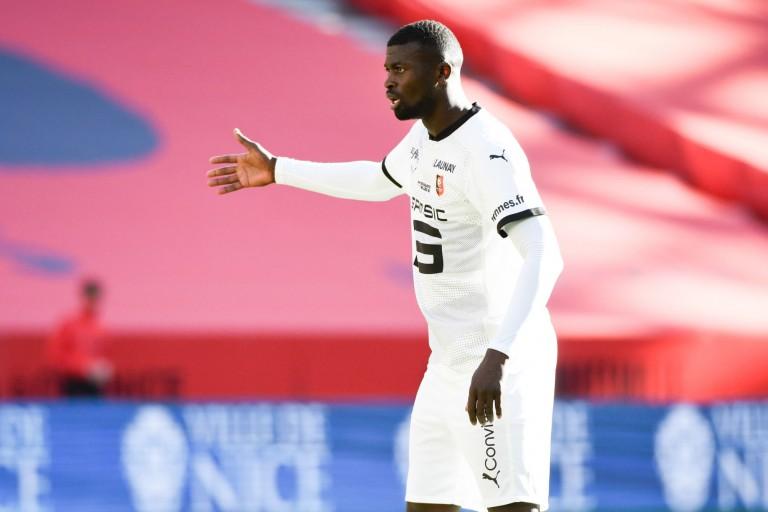 M'Baye Niang, attaquant du SRFC visé par le FC Nantes.