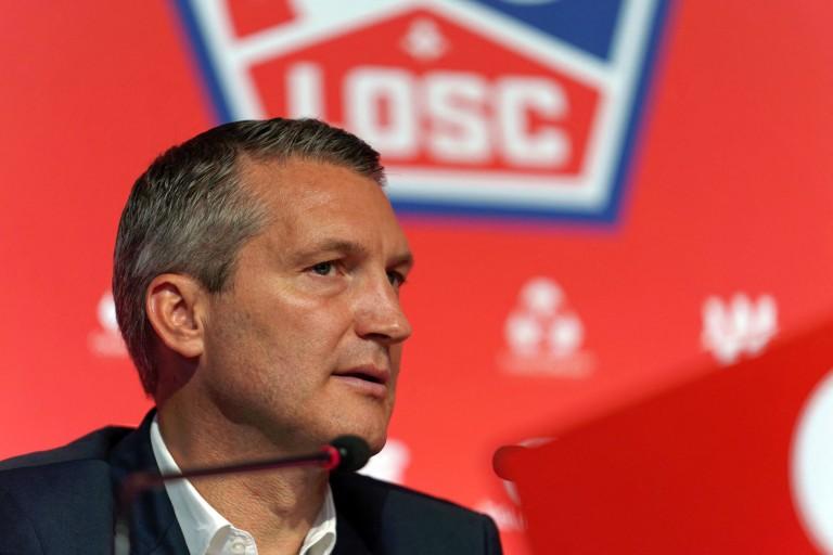 Olivier Létang, le président du LOSC