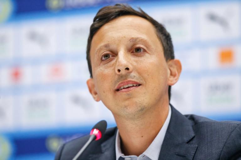 Le président de l'OM Pablo Longoria
