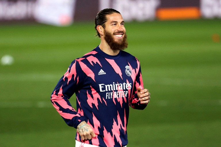 Sergio Ramos remercie Kimpembe