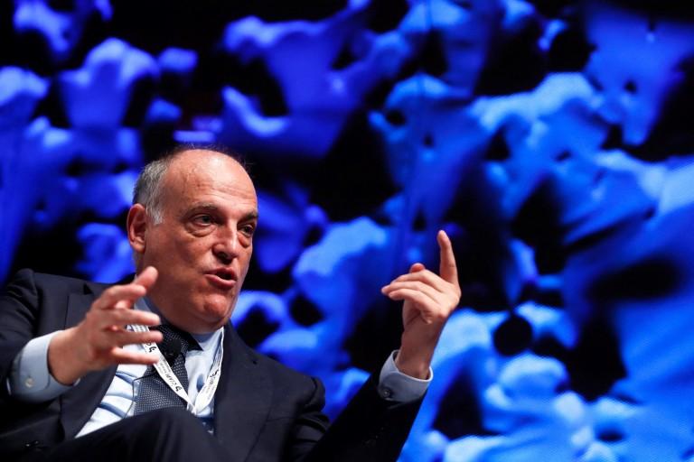 Javier Tebas dénonce encore le modèle économique du PSG.