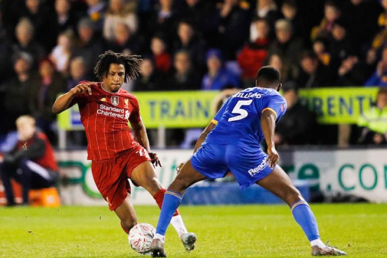 L' ES Troyes AC a recruté Yasser Larouci à Liverpool.