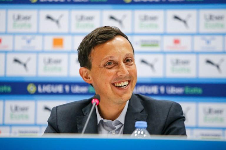 Pablo Longoria, président de l' OM, confirme les négociations pour le départ de Dario Benedetto.