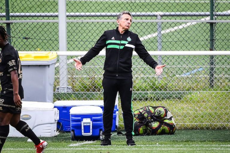 Claude Puel, coach de l' ASSE.