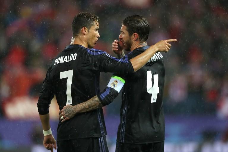 Cristiano Ronaldo attiré au PSG par Sergio Ramos ?