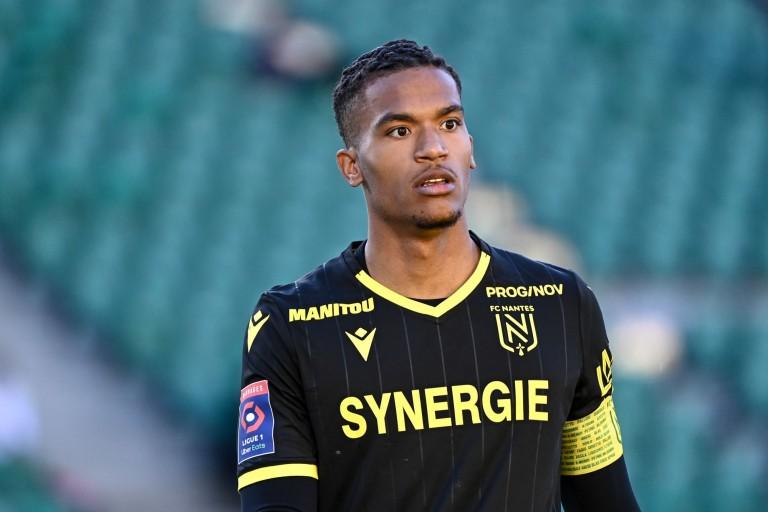 Alban Lafont, gardien de but du FC Nantes, visé un temps par l'OM.