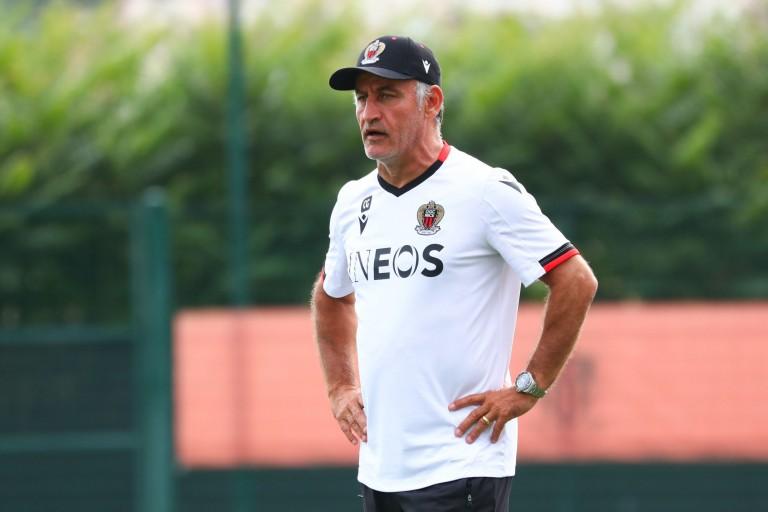Christophe Galtier, entraîneur de l' OGC Nice.