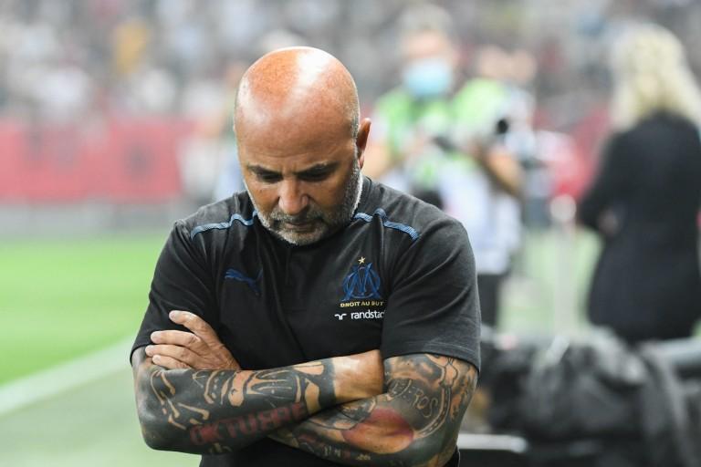 Entraineur de l' OM, Jorge Sampaoli privé de deux joueurs face à Monaco.