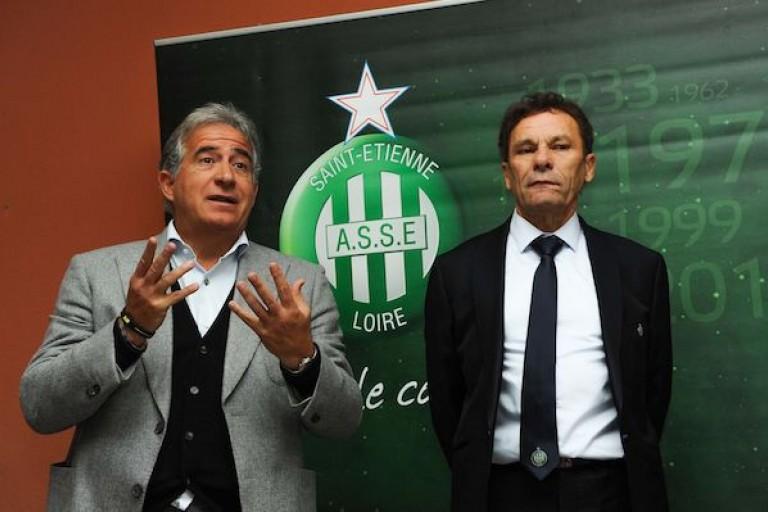 Roland Romeyer et Bernard Caïazzo, présidents de l' ASSE.