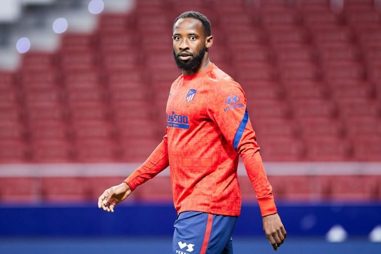 Moussa Dembélé, attaquant de l' OL.