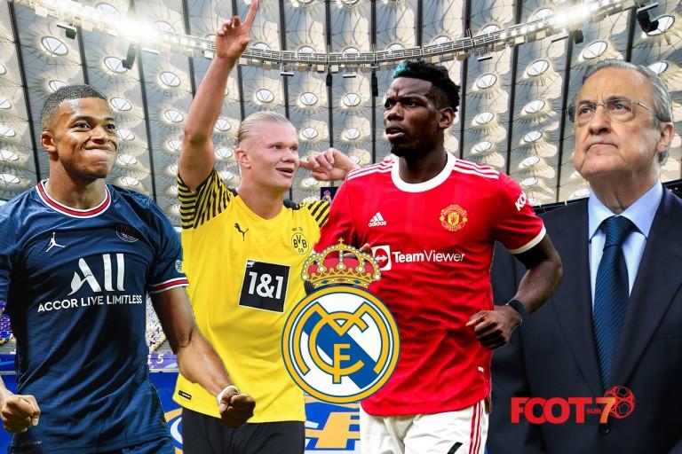Pogba,Haaland et Mbappe au Real en 2022