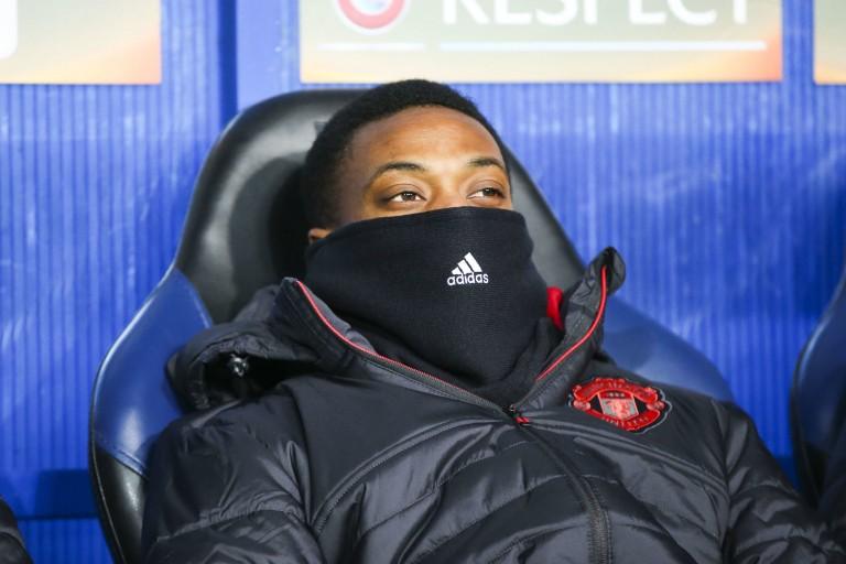 Anthony Martial passe plus de temps sur le banc de touche que sur le terrain depuis le début de la saison avec Manchester United.