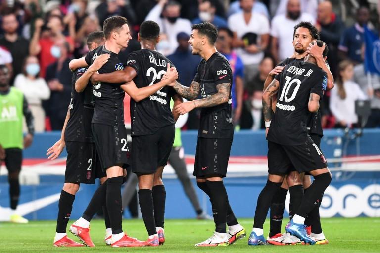Avant d'affronter Manchester City en C1 mardi, le PSG s'est défait de Montpellier samedi sur le score de 2 buts à 0.
