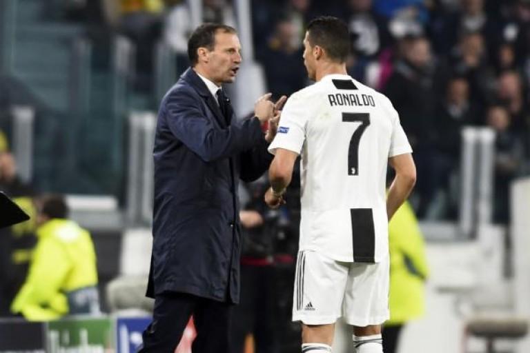 Allegri en dit plus sur le départ de Ronaldo