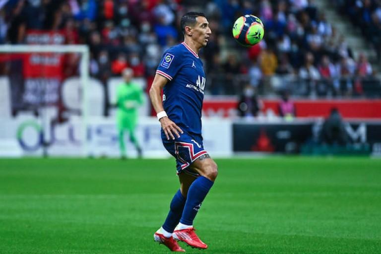 Angel Di Maria  sous le maillot du PSG.